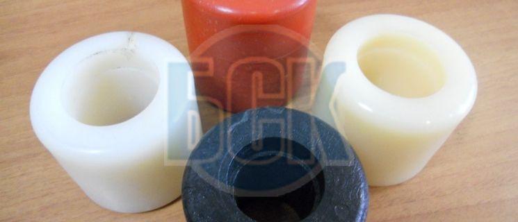 Ролик 70х50 из полиамида окрашенного для гидравлических тележек